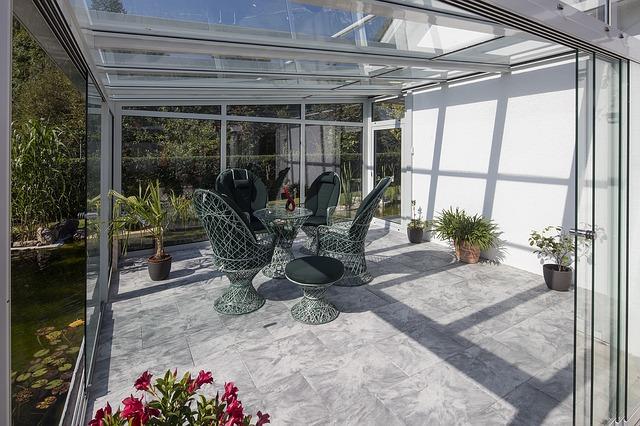 Ogród zimowy - budowa